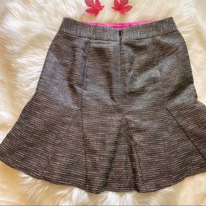 BANANA REPUBLIC SILVER SKIRT